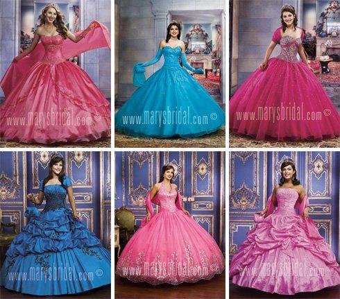 Vestidos de princesa 15 años 2013