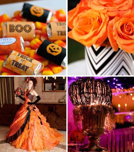 Fiesta tematica de Halloween 15 años