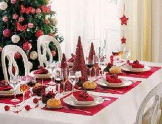 Decoracion de fiesta de 15 navideña