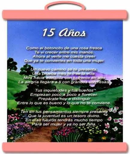 Poemas Para Quinceaneras Y Frases Emotivas Para 15 Anos Mi Fiesta