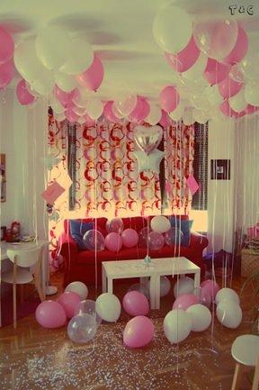 Ideas para celebrar 15 a os sin fiesta for Cuartos decorados feliz cumpleanos