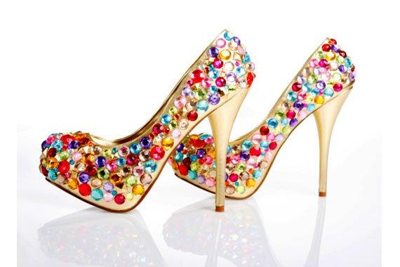 Zapatos para quinceañeras 2015