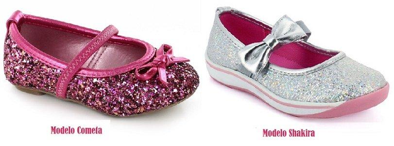 Bailarinas en glitter para quinceañeras