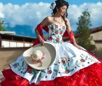 Fashion mexicano, para quinceañera