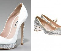 Zapatos de quinceañera, purpurina o glitter