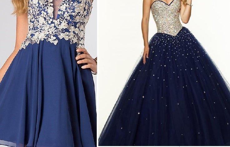 Estilos en vestidos para damas