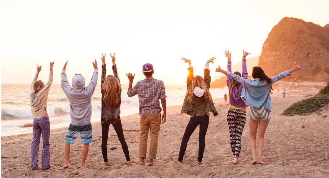 Celebrar en la playa